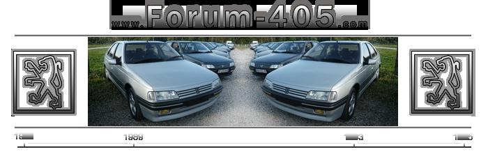 www.forum-405.com le Forum dédié à la 405