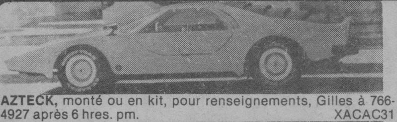 Les Québecois Grand Amateurs de Kit Car - Page 2 Aztec_11