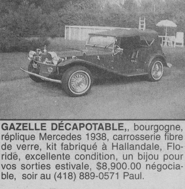 Les Québecois Grand Amateurs de Kit Car - Page 2 Gaz_9510