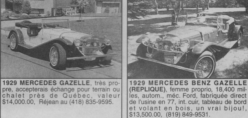 Les Québecois Grand Amateurs de Kit Car - Page 2 Gazell10