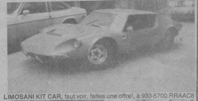 Les Québecois Grand Amateurs de Kit Car - Page 2 Limosa10
