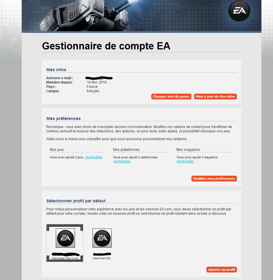 Jeux EA : Tuto résoudre un problème d'accès au multijoueur de certains jeux. 3111