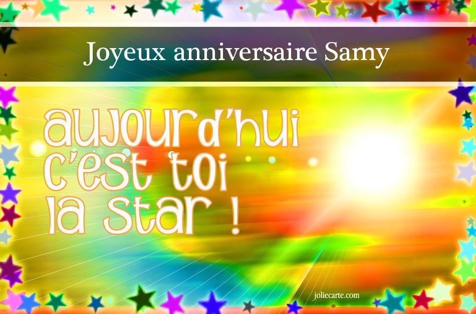 Joyeux anniversaire Samy !!!!! Samy10