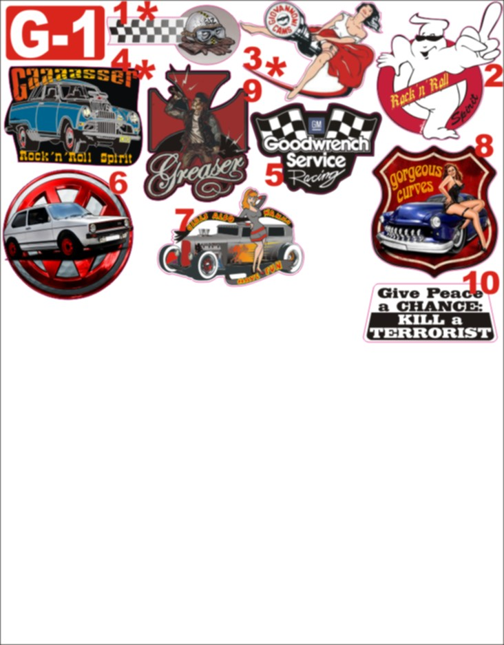 NIKO'S STICKERS (catalogue page 1) 0g-111