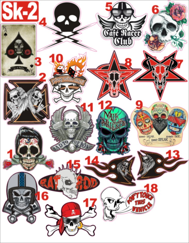 NIKO'S STICKERS (catalogue page 1) 0sk-211