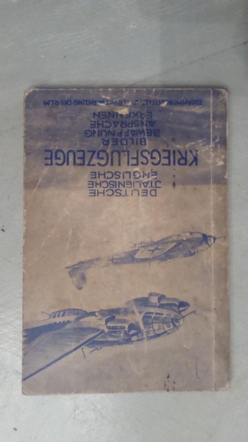 livret pour identification des avions  00129