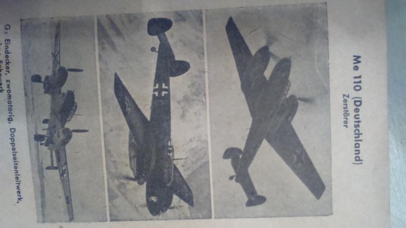 livret pour identification des avions  00316