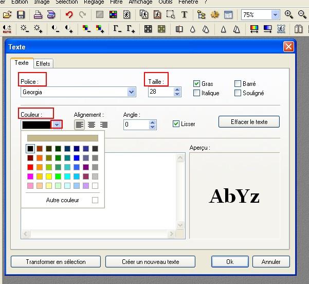 comment signer vos photos (captures d'écran) Sans_t23