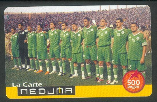 Nedjema : Equipe nationale Nedjma10
