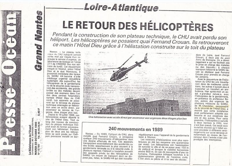 [Vie des ports] NANTES - Des poux dans le ciel. Helico10