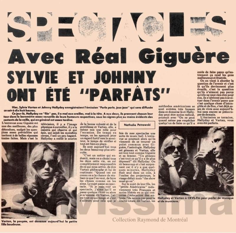 JOHNNY ET SYLVIE AU CANADA EN 1975 Recons10