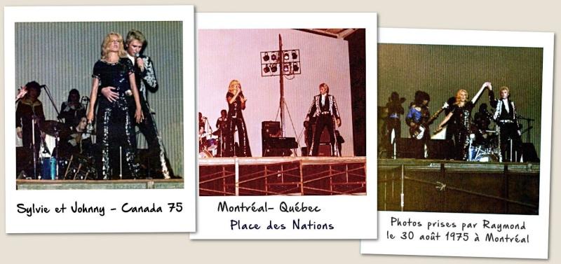 JOHNNY ET SYLVIE AU CANADA EN 1975 Sylvie10