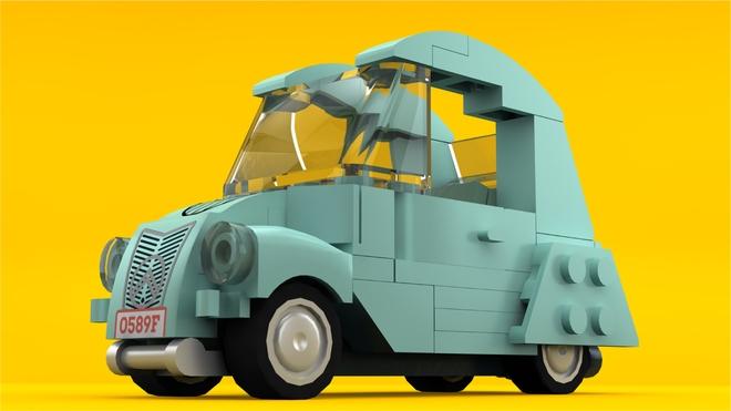 Citroën en Lego Lego10