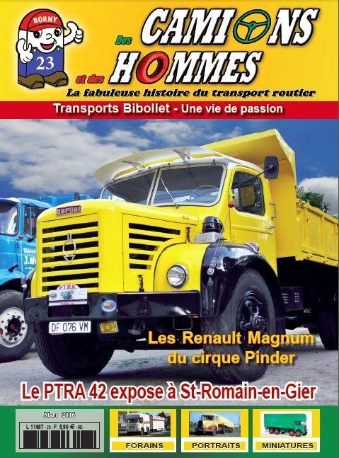 le numéro 23 du magazine Des Camions et des Hommes Sans_t10