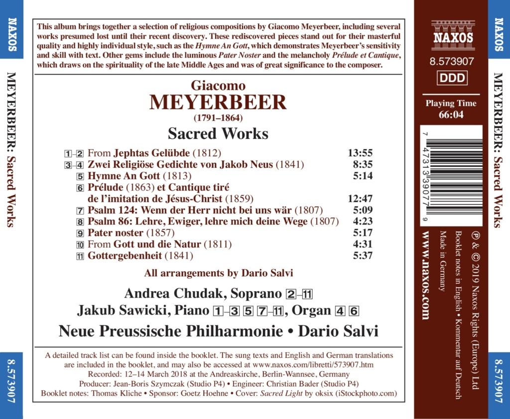 Redécouverte de la musique religieuse de Meyerbeer Back11