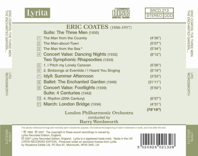 Eric Coates (1886-1957) Back24