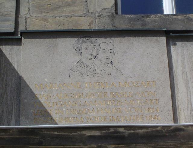 La Bäsle (Maria Anna Thekla Mozart) 1758-1841 Bayreu10