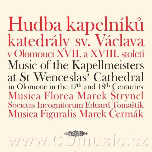 Musiques pour la cathédrale d'Olomouc F1022210