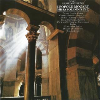Leopold Mozart - Missa Solemnis - CD Aparté 2019 Front26