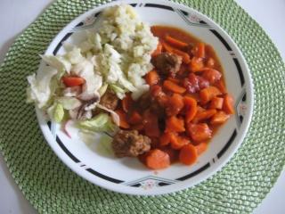 Boulette de boeuf aux carottes Img_1087