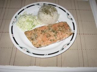 Filets de saumon  marinés Img_1133