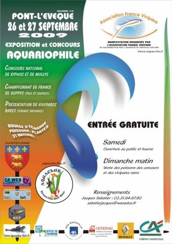 GRANDE MANIFESTATION VIVIPARIOPHILE les 26 et 27 septembre 2009 à PONT L'EVEQUE Afv_6410