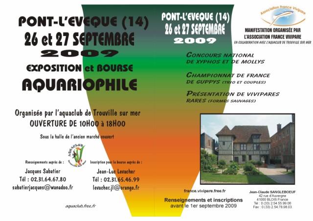 GRANDE MANIFESTATION VIVIPARIOPHILE les 26 et 27 septembre 2009 à PONT L'EVEQUE Agf_6410