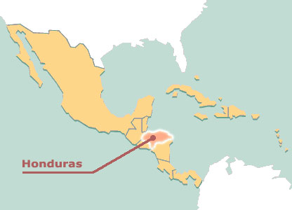 Alain Musset s'exprime sur le nouveau régime hondurien Map_ho10