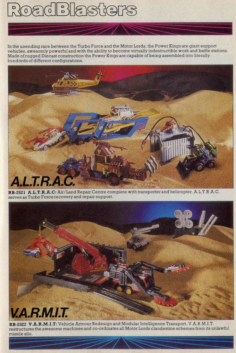 ROAD BLASTERS (Matchbox) 1988 Catalo10