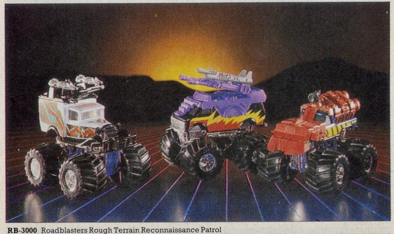 ROAD BLASTERS (Matchbox) 1988 Catalo12