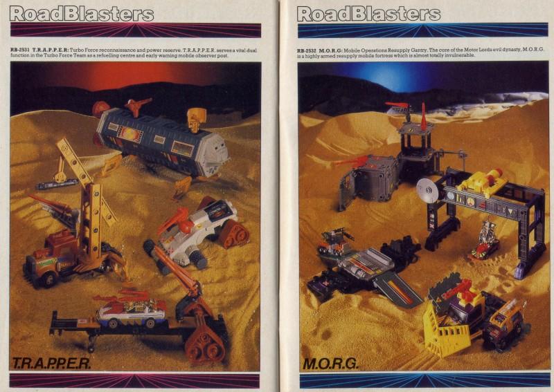 ROAD BLASTERS (Matchbox) 1988 Catalo13