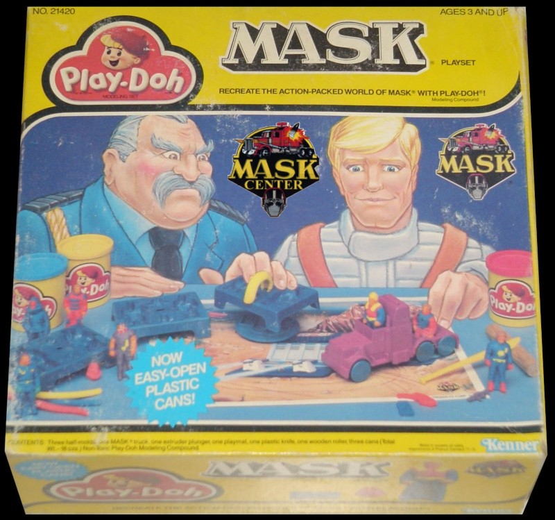 MASK - PLAY DOH Jx171010