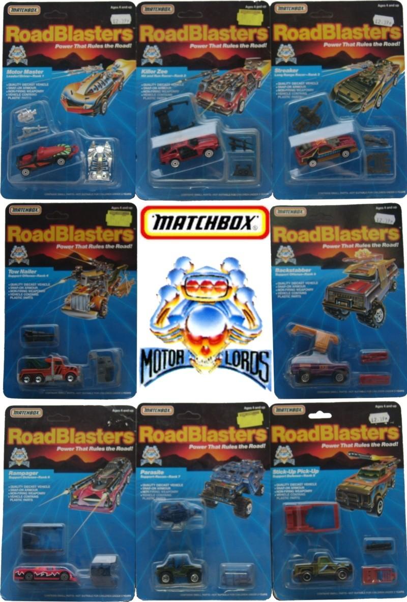 ROAD BLASTERS (Matchbox) 1988 Ml10
