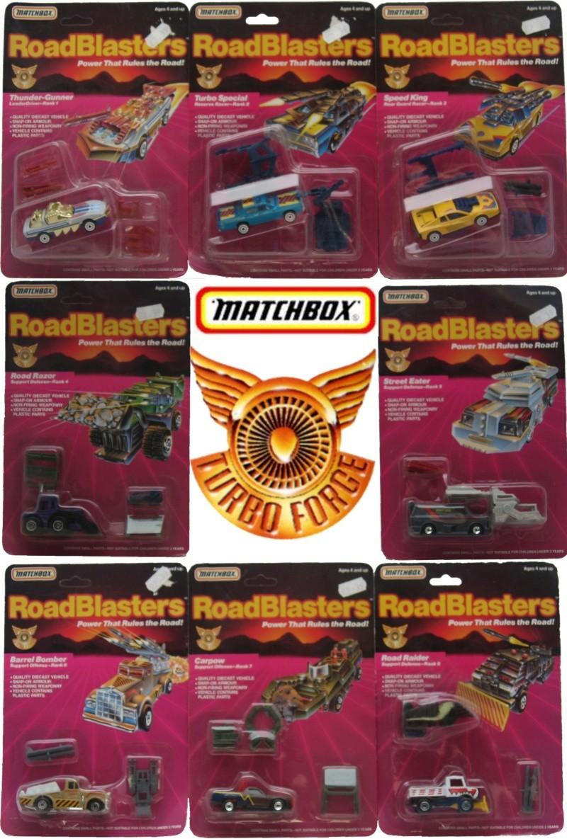ROAD BLASTERS (Matchbox) 1988 Tf10