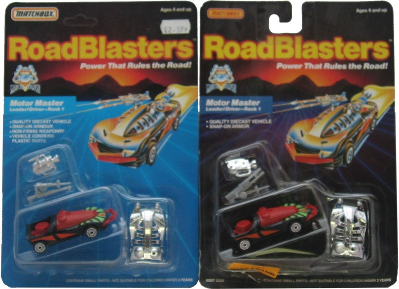 ROAD BLASTERS (Matchbox) 1988 Us-uk10