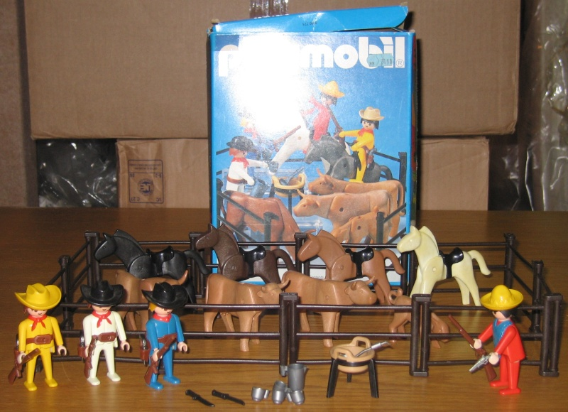 [PLAYMOBIL] Thème WESTERN - Cow-Boy, Indiens - Page 2 Wester11