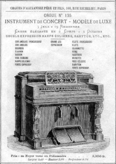 Photos des instruments Alexandre Père & Fils Alexan10