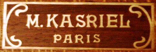 Photos des Kasriel Plaque10