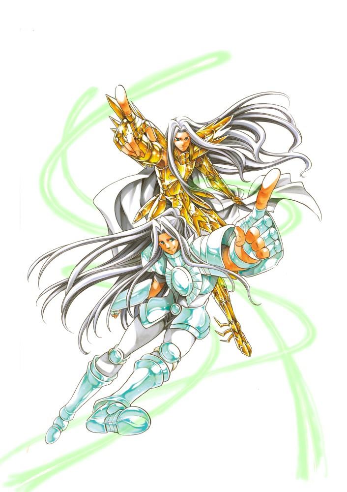 [Artbook] Saint Seiya The Lost Canvas 冥王神話画集 Up-old10