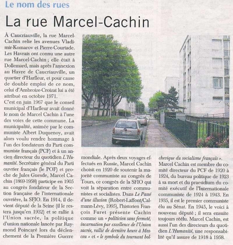 Havre - Le Havre - Rue Marcel Cachin (Caucriauville) 2016-023