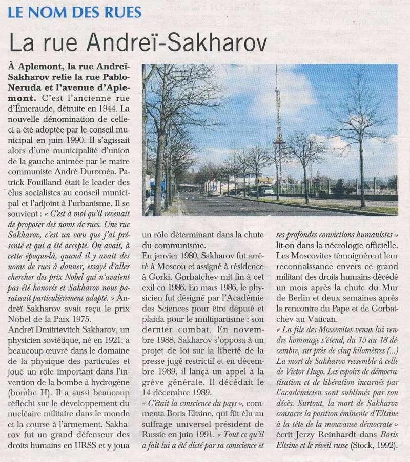 Le Havre - Rue Andreï Sakharov (Aplemont) 2016-032