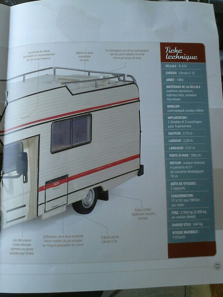 """nouvelle collection Hachette """"Passion Camping Cars"""" Campin11"""