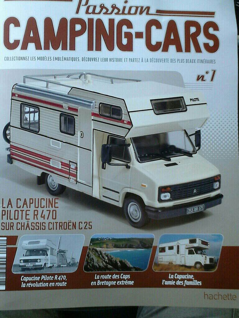 """nouvelle collection Hachette """"Passion Camping Cars"""" Campin15"""