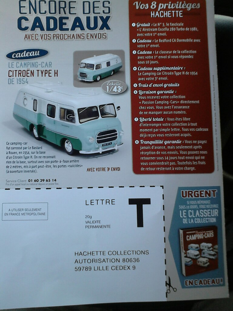 """nouvelle collection Hachette """"Passion Camping Cars"""" Campin17"""
