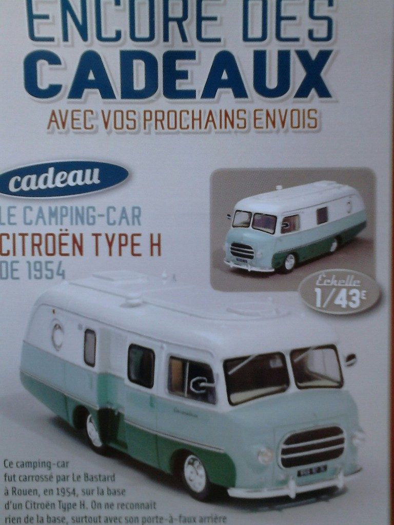 """nouvelle collection Hachette """"Passion Camping Cars"""" Campin19"""