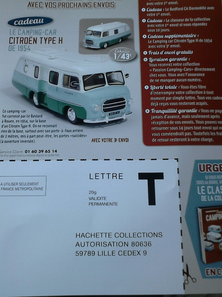"""2017 - Hachette Collections > """"Passion CAMPING-CARS"""" Campin20"""