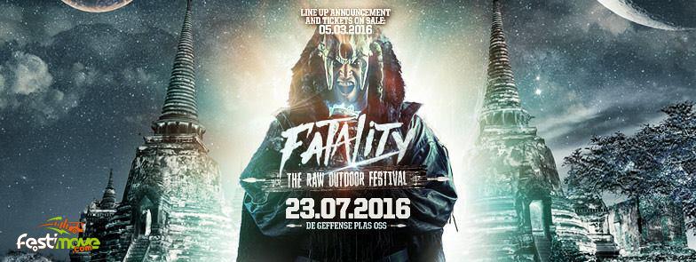 Fatality - The RAW Outdoor Festival - 23 Juillet 2016 - Geffense Plas - Oss - NL 12801311