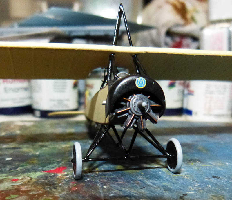 """[1915] [AZ Model] Morane L """"Parasol"""" - Première victoire de Guynemer. Morane12"""