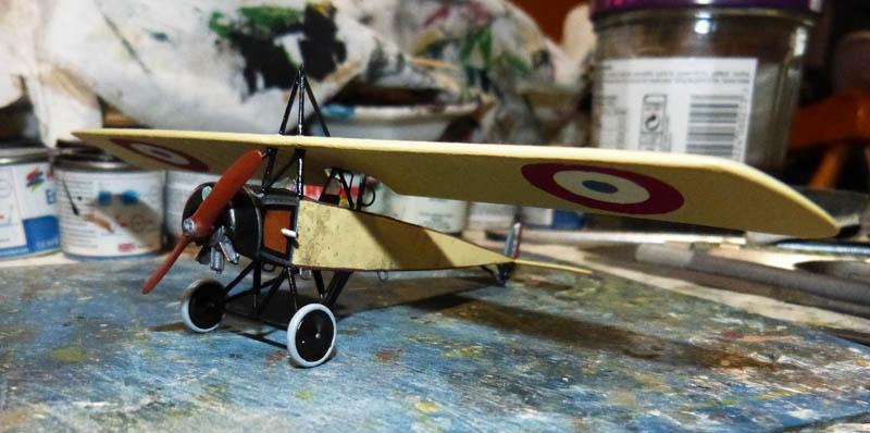 """[1915] [AZ Model] Morane L """"Parasol"""" - Première victoire de Guynemer. Morane21"""