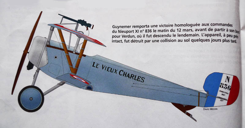 [1916] Toko - Nieuport 11 de Georges Guynemer. Nieupo13